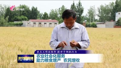 农业社会化服务助力粮食增产 农民增收