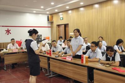 邮储银行泗水县支行党支部组织开展第五届合规知识竞赛活动