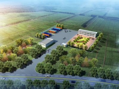微山县两城镇公交枢纽站开工建设