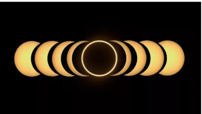 天文狂欢月:日环食、双星伴月、流星雨…这个6月太难得了