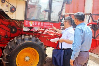 """曲阜打好""""三夏""""农机化生产会战 确保小麦颗粒归仓"""