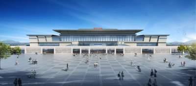 鲁南高铁济宁北站今日开工  预计2021年底投入使用