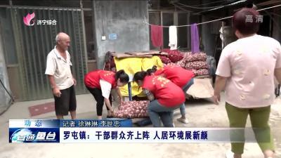 鱼台罗屯镇:干部群众齐上阵 人居环境展新颜