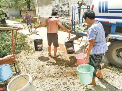 连续停水三周村民无水可用 部门:近期恢复正常供水