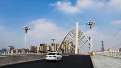 金乡莱河金珠桥通车!