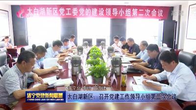 太白湖新區:召開黨建工作領導小組第二次會議