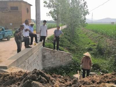 不用擔心莊稼被淹了!微山兩城鎮鄉村振興服務隊疏渠固堤防汛情