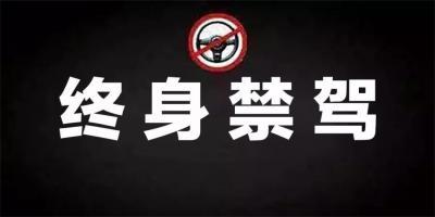 山东发布今年第六批终身禁驾人员名单,济宁5人