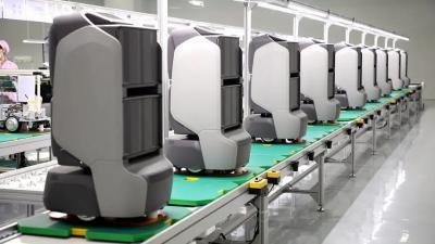 奋战三季度|31599com高新区海富电子服务机器人项目建成投产