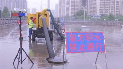 濟寧市城市管理局啟動Ⅲ級預警響應 確保城市防汛安全