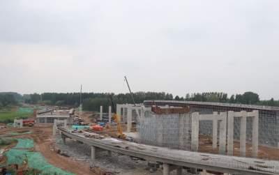 百日攻坚丨环湖大道太白湖段工程预计明年10月完工