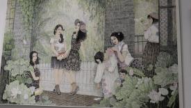 國畫油畫版畫雕塑繪出濟寧故事 93件佳作為城市添彩