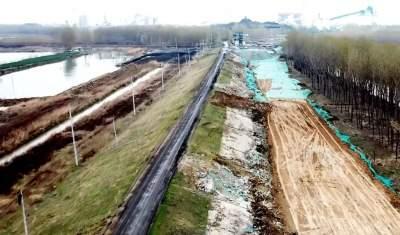 冲刺三季度|环湖大道东线工程(太白湖段)进展顺利