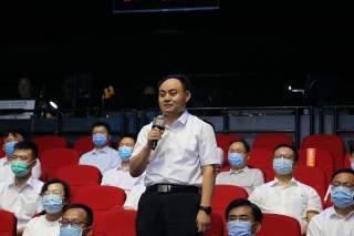 汶上县科学技术部门负责人在问政现场