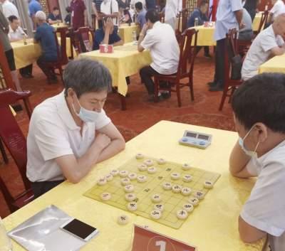 济宁市第四届老年人运动会象棋比赛在汶上县举行