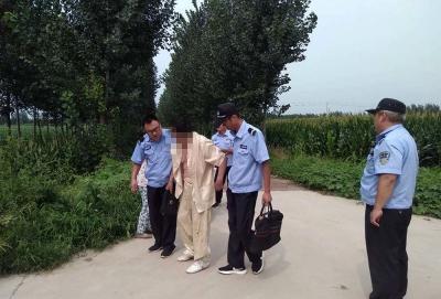 暖新聞 老人騎車摔倒 兗州民警暖心救助