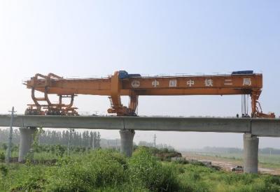 工期提前11天 魯南高鐵嘉祥制梁場617孔箱梁架設完成