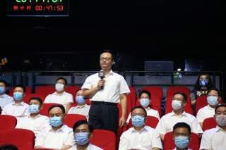 济宁高新区科学技术部门负责人在问政现场