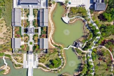 棚戶區變身江南園林 梁山巧繪城市建設的水墨丹青