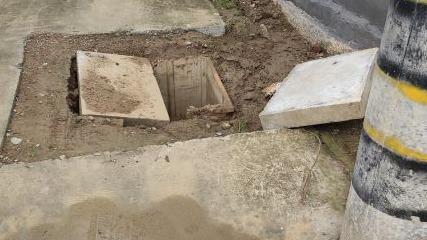 石桥镇栗河涯村水表井损坏严重 部门:已安排专人维修