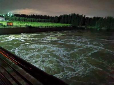 泗河书院站实测1992年以来最大洪水流量