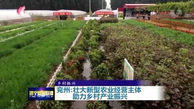 兖州壮大新型农业经营主体 助力乡村产业振兴