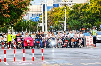 从交通秩序到市容整治 创城的改变遍布曲阜街头