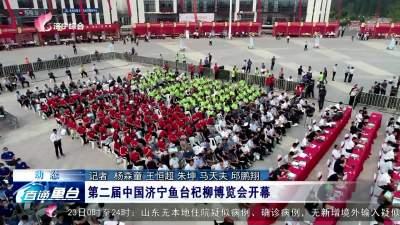 第二届中国济宁鱼台杞柳博览会开幕