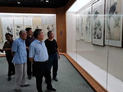 星伯遺墨——傅星伯誕辰110周年遺作展在兗州博物館開展
