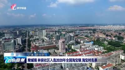 曲阜陵城鎮 林前社區入選2020年全國淘寶鎮 淘寶村名單