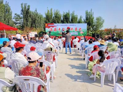 钓龙虾、采莲藕……欢乐聚农家 喜庆莲藕节