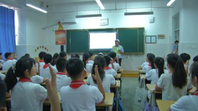 开学第一课 | 济宁嘉祥:交通安全点亮开学季