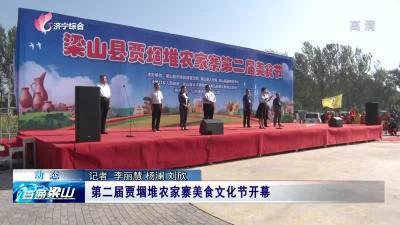 第二届贾堌堆农家寨美食文化节开幕