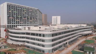 重点工作攻坚年 | 济宁市立医院项目初具规模 内部设计贴心便民