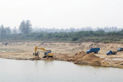 大汶河汶上县段全面禁止采砂