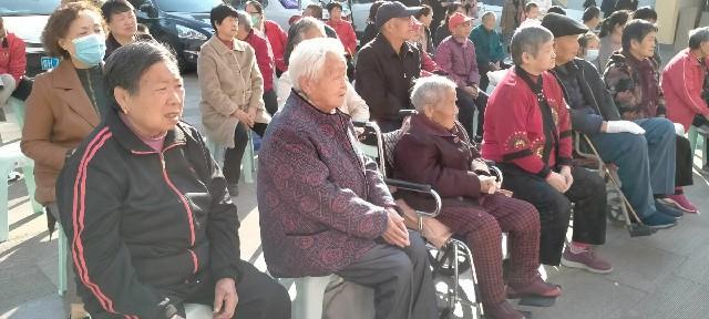 蒋林社区举办主题重阳节敬老活动