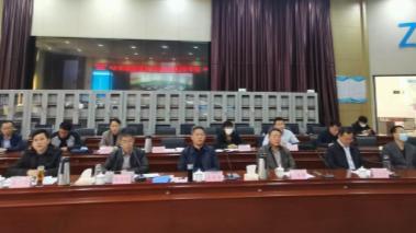 济宁市召开重污染天气应急响应落实督导视频会议