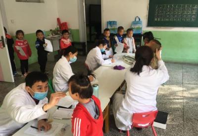 汶上縣開展健康查體 2469名學生接受健康體檢