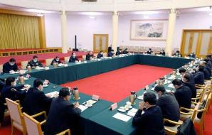 省委召開省級黨員領導干部會議 傳達學習中央全面依法治國工作會議精神