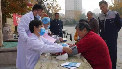 濟寧市財政事務服務中心志愿服務走進高新區社區