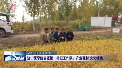 濟寧醫學院省派第一書記工作隊:產業強村 文化鑄魂