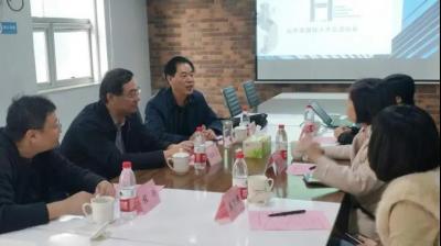 济宁市科技局赴山东省国际人才交流协会推进重点合作对接