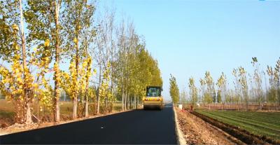 姚吳路升級改造工程竣工通車!坑洼不平、雨天泥濘的老路修好啦!