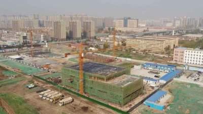 """63天封顶!济宁太白湖新区这个项目刷新""""新区速度"""""""