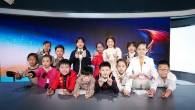 济宁广电艺术培训小学员:体验主播魅力 展示主持风采