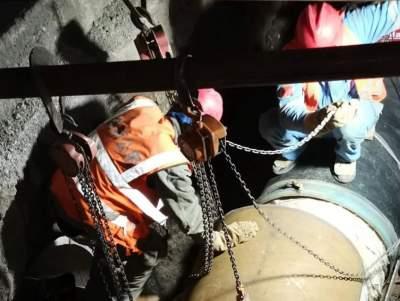 濟寧高新區濟二礦熱源替代配套蒸汽管網項目暖管送氣