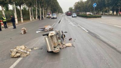 """危難時刻的""""救命錢"""" 汶上交警啟動道路交通事故救助基金"""