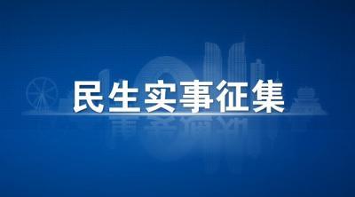 鱼台县人民政府面向社会公开征集2021年民生实事项目