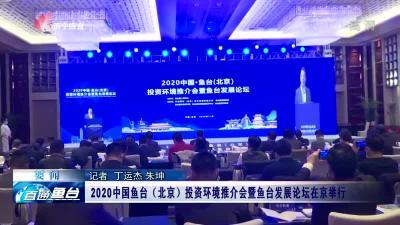 2020中國魚臺(北京)投資環境推介會暨魚臺發展論壇在京舉行
