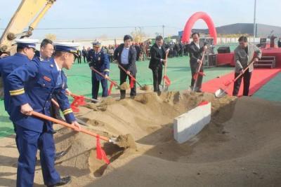济宁市第31个消防救援站奠基开工